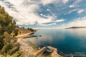 Lago Titicaca from Isla Taquile