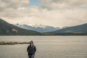 Beagle Channel with Chilean Mountains in the background