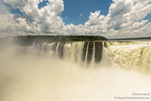 Iguazú Falls from the Front