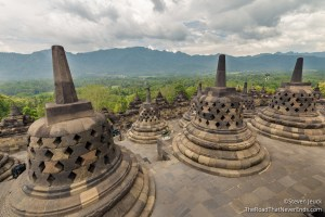 Top of Borobudur Temple