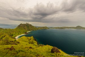 View from the hike on Pulau Padar