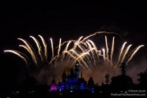 Disney in the Stars Fireworks Show