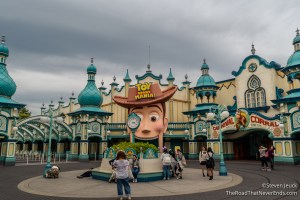 Toy Story Mania, Toyville Trolley Park