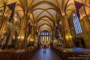 Inside Mattias Church