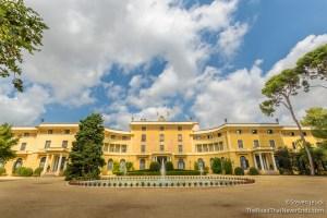 Jardines del Palacio de Pedralbes
