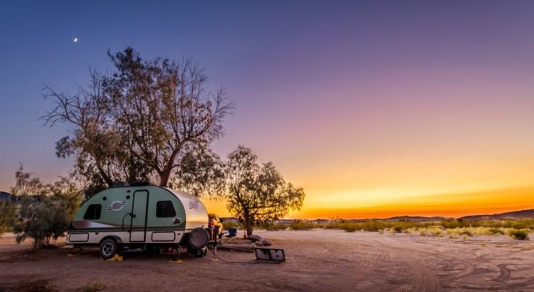 Mojave Preserve Campsite
