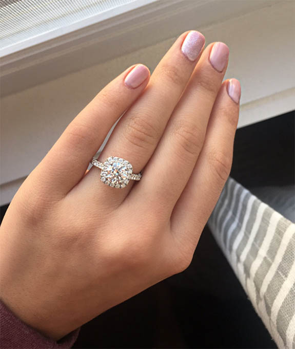 Country Star Kelsea Ballerinis New Engagement Ring Is