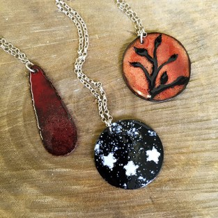 Enamel Jewellery Class - Evening class in Sheffield