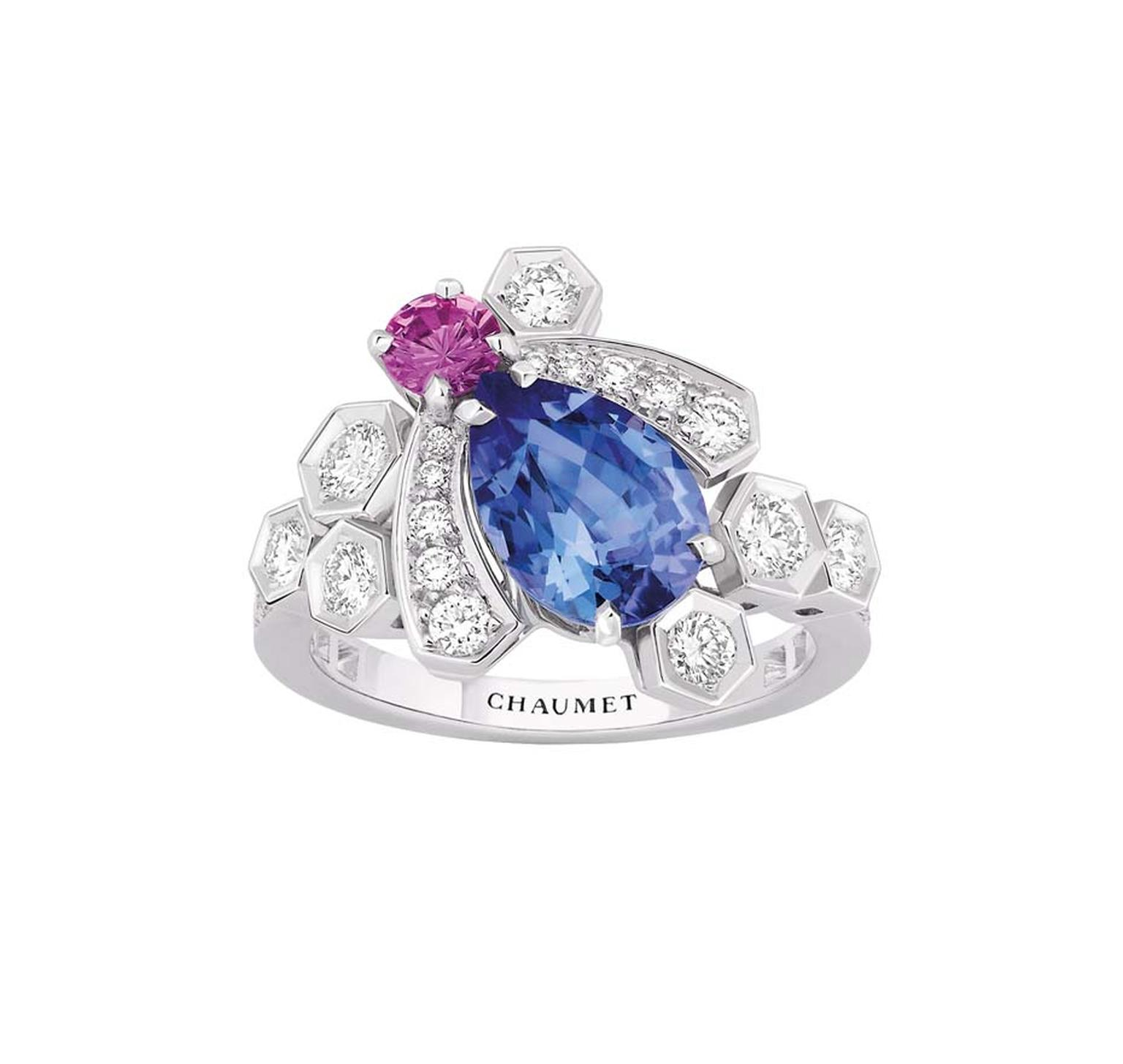 Bee My Love Tanzanite Ring Chaumet The Jewellery Editor