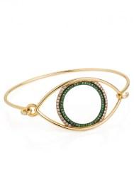 Marianna G., Avra Bracelet with diamonds and tsavorites, 1 500£
