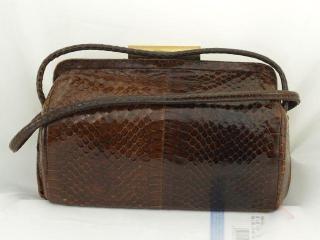 1950s Lizard Skin Purse
