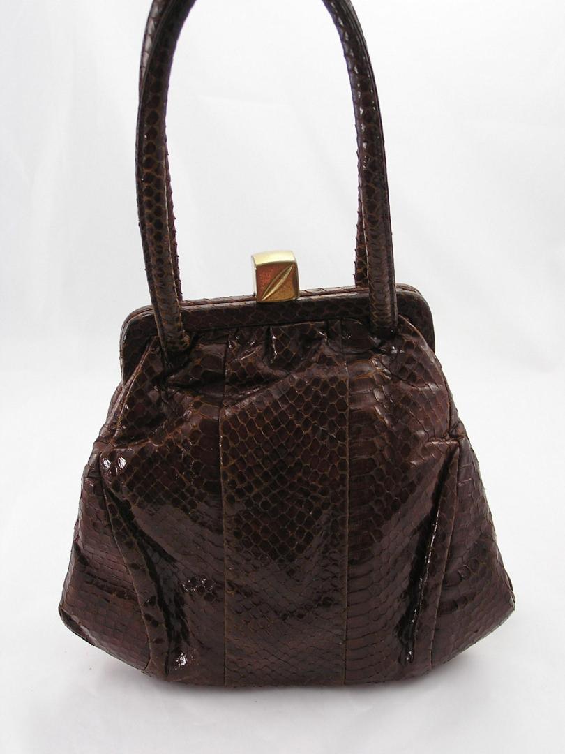 1940s Lizard Skin Purse