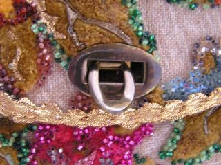 1960s Midas of Miami Floral Purse Clasp View