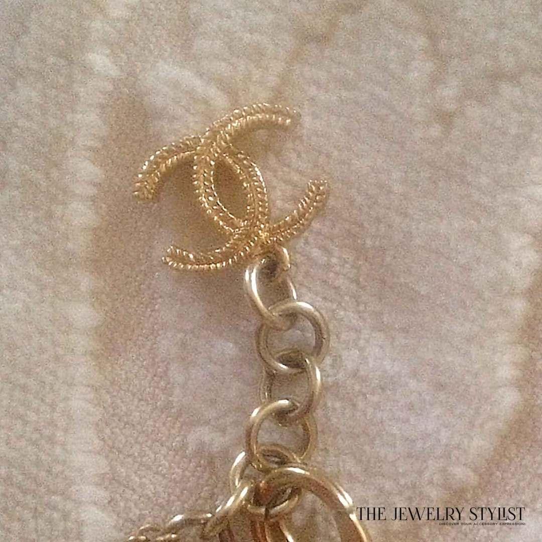 Vintage Chanel Heart Pendant Necklace Clasp