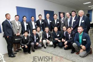 Photo Credit: Inbal Rose / Description: Hong Kong delegation in Jerusalem on May 19, meeting with Israeli startup innovators.