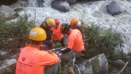 The IsraeLife delegation works to retrieve Or Asraf's body from the Langtang region of Nepal.