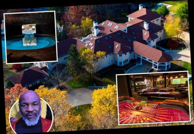 Inside Mike Tyson's extravagant 52-room mansion he sold to 50 Cent for £3.3m  with two pools, studio and nightclub – The Sun | thejjReport
