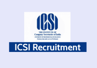 ICSI Recruitment