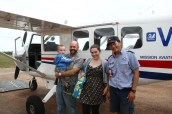 Eric and Naomi Koch visit Numbulwar