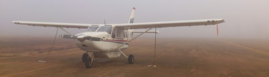 Numbulwar got lots of fog