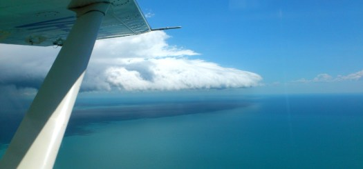 Just beat a storm out of Groote Eylandt