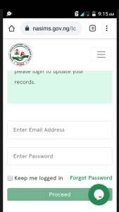 How To Recieve Npower E-mail And Update/Validate Your Information On nasims.gov.ng