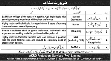 AKRO Protection Services Jobs