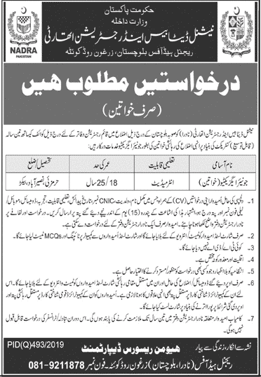 Nadra Latest Jobs, Nadra new jobs, Nadra jobs