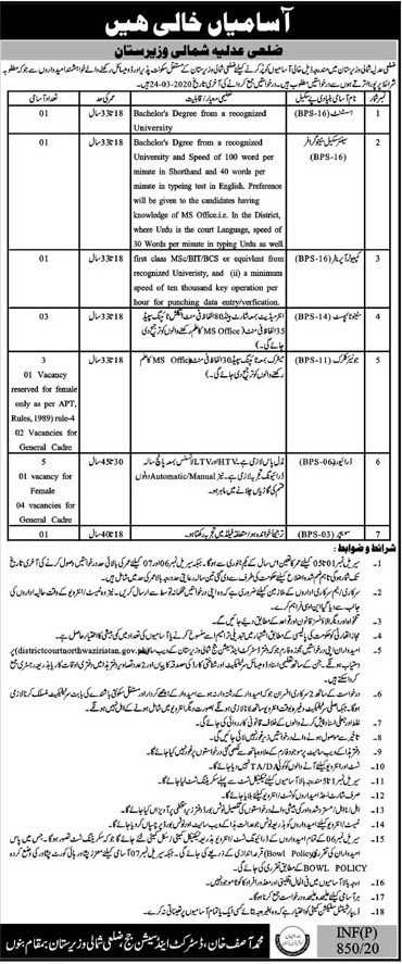 District Session Judge Jobs 2020
