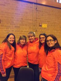 The lovely ladies on the VLM marshalling team