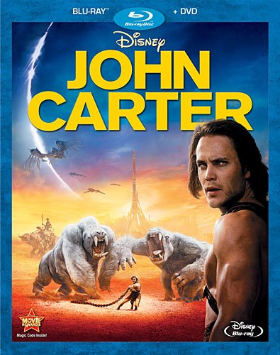 UK Walmarts Increase John Carter DVD price after it moves