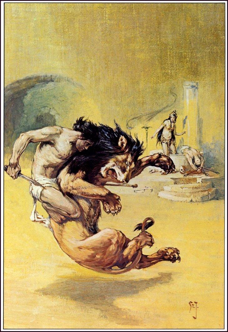 A Rare Glimpse Of Edgar Rice Burroughs Favorite Illustrator J