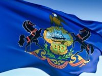 Pennsylvania's flag.