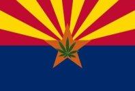 Arizona Marijuana Flag
