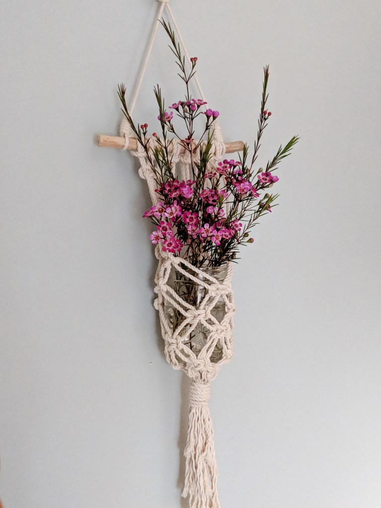 Macrame Must Haves Macrame Wall Hanging Plant Holder