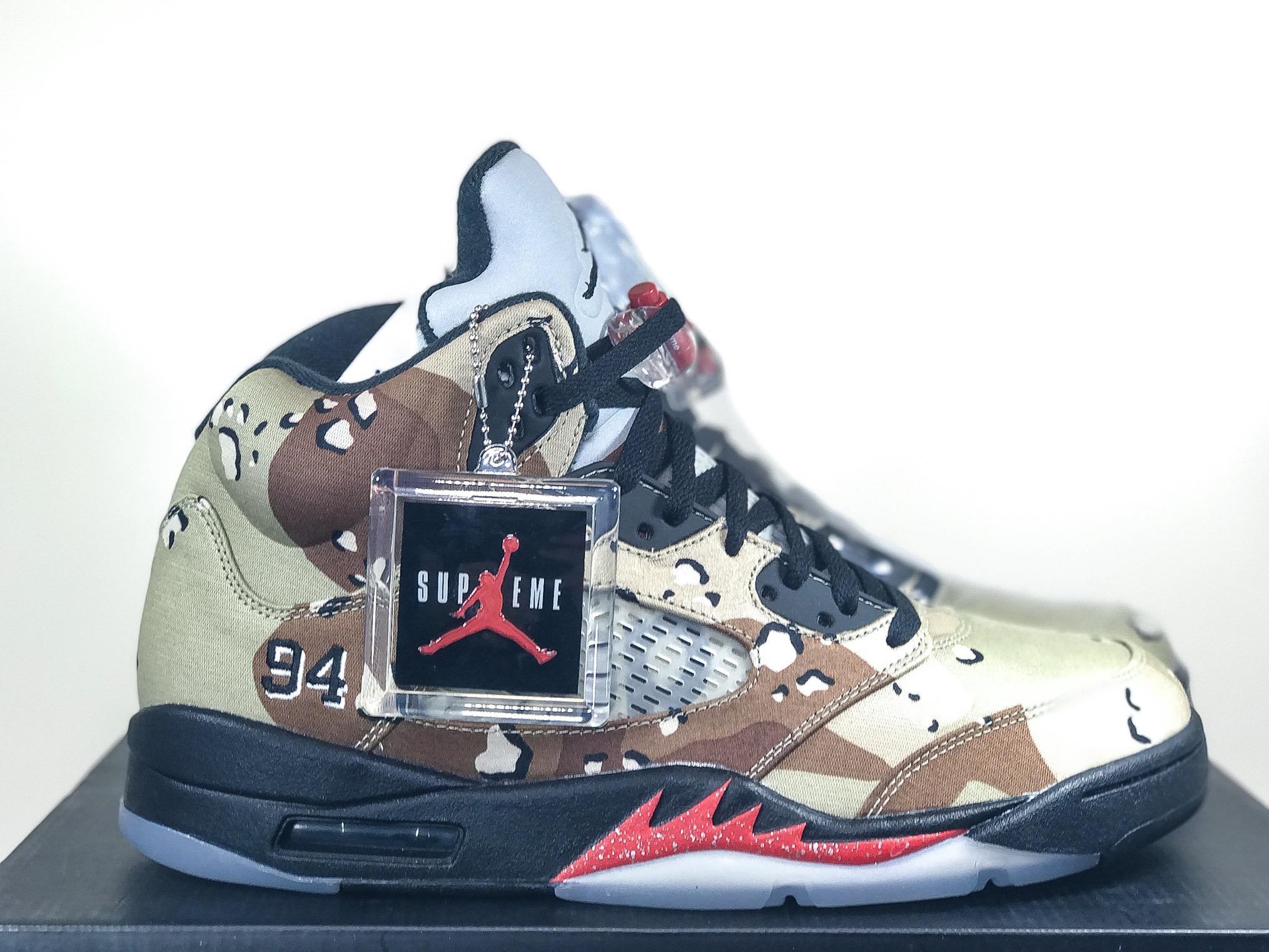 huge discount d7975 10d71 Air Jordan Retro 5 Supreme