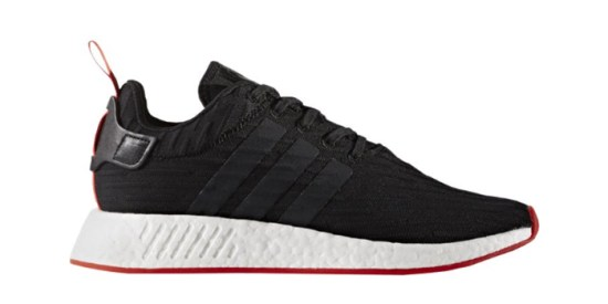"""Adidas NMD R2 Black Core Red """"Two Toned"""""""