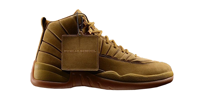 "Air Jordan Retro 12 ""PSNY Wheat"""