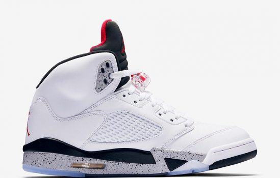 "Air Jordan Retro 5 ""White Cement"""