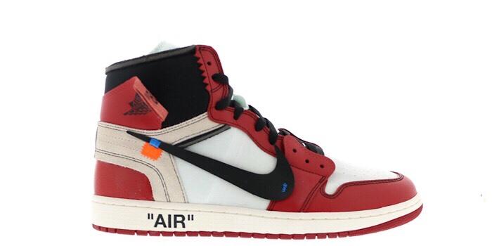 "Air Jordan Retro 1 High ""Off-White Chicago"""