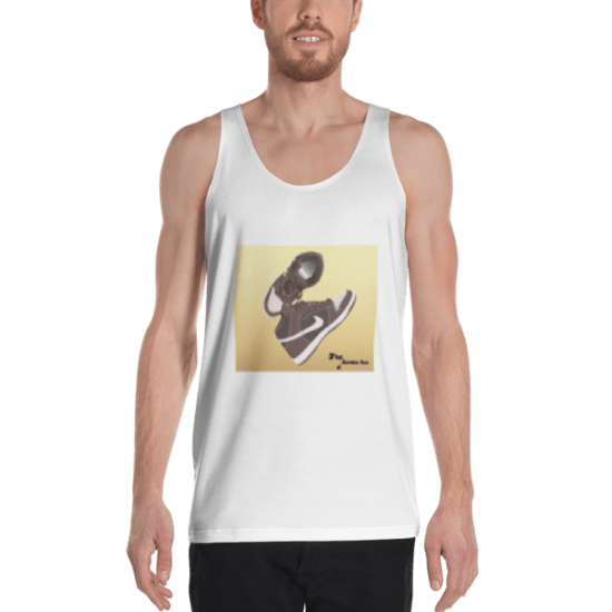 """Look At My Chest"" Unisex Tank Top"