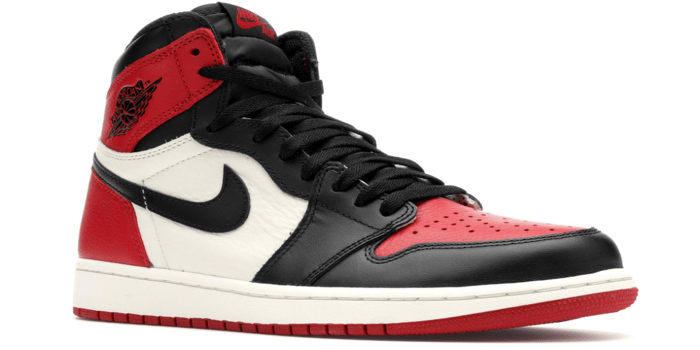 "Air Jordan Retro 1 High ""Bred Toe"""