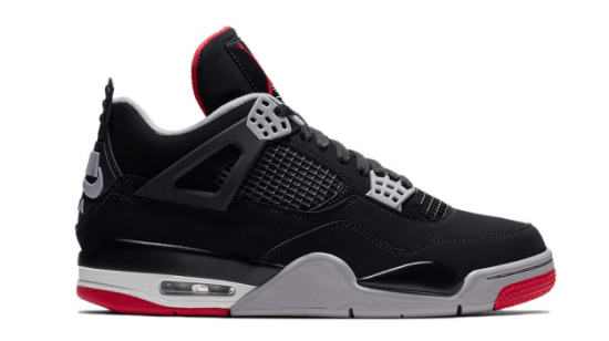 "Air Jordan Retro 4 ""Black Cement"" (2019)"
