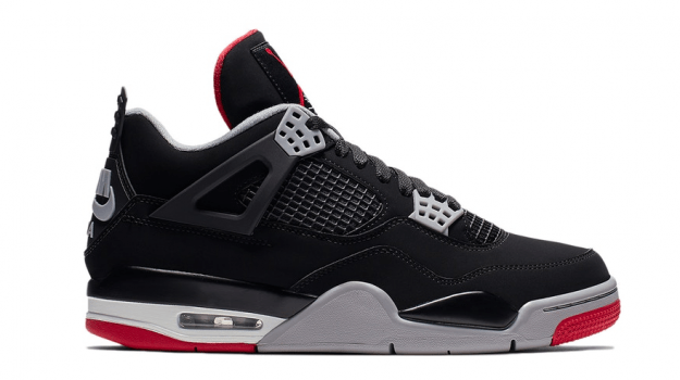 "Air Jordan Retro 4 ""Black Cement"" GS (2019)"