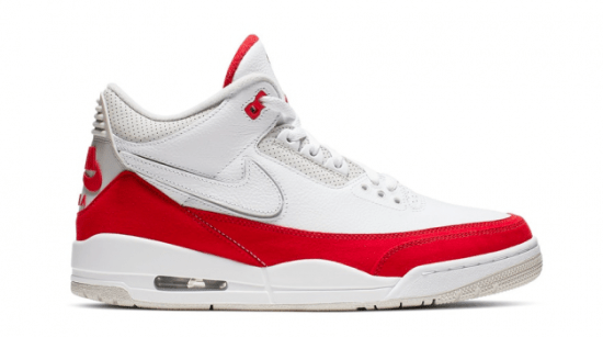 "Air Jordan Retro 3 Tink ""White University Red"""