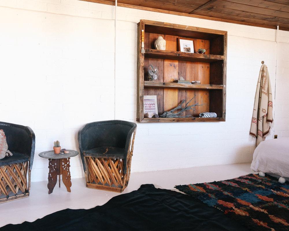 The Joshua Tree House Tent Room