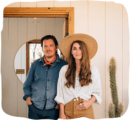 Rich Combs and Sara Combs of The Joshua Tree House