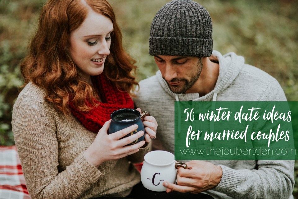 50 winter & Christmas date ideas for married couples