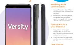 Versity Clinical Smartphone