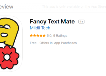 Fancy Text Mate Alternatives and Similar Software
